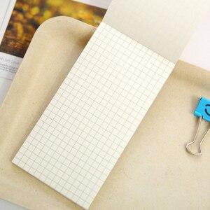 Image 5 - 20 pz/lotto Kraft di carta semplice linea di notebook può strappare Notepad Piccolo Notebook Planner Note di Cancelleria Allingrosso