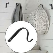 2 шт. металлические настенные крючки j-крючок для хранения винтажная настенная вешалка винтовые крючки для одежды вешалка для полотенец пальто шляпа держатель настенный крючок