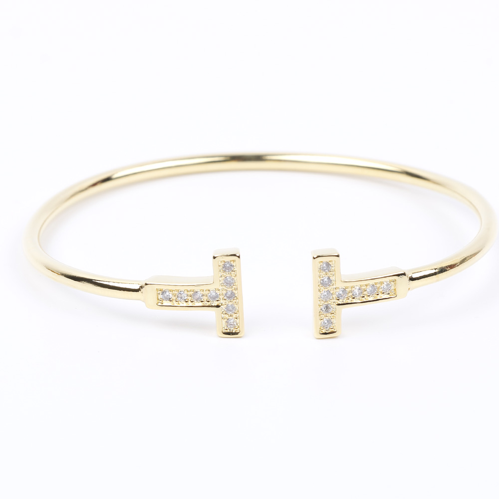 Fashion new jewelry men and women couple bracelet bracelet nail cuff bracelets jewelry Valentine 39 s Day best gift love bracelet in Bangles from Jewelry amp Accessories