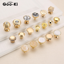 European Bright Gold Drawer Knobs Affordable Luxury Cabinet Handle Cupboard Door Handle Cabinet Handles for Furniture Hardware
