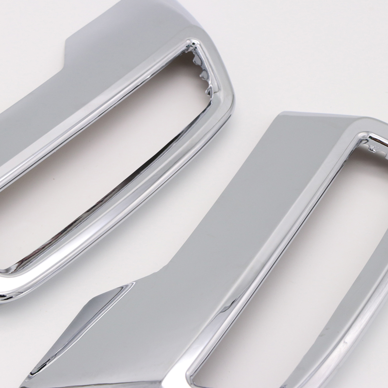 HIGH FLYING 3008//5008/2nd Generation 2017/2018/Chrome Exhaust Tailpipe Exhaust System ABS Plastic Styling Strips Pack of 2