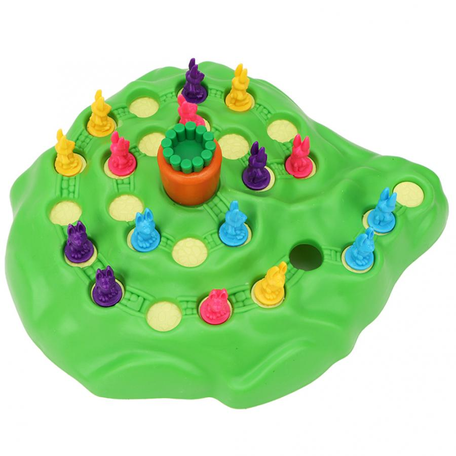 Children Chess Game Early Educational Toy Puzzles Family Party Casual Game Rabbit Shape Trap Chess Interaction Intelligent Toy