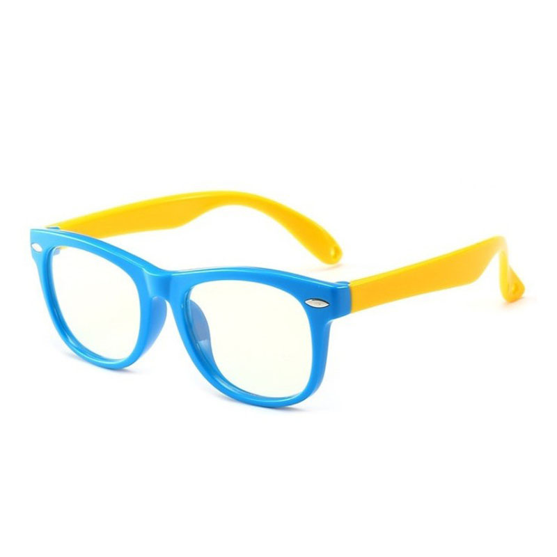 Vintage Children Anti-blue-light Glasses Baby Game Eyeglasses Fashion Kids Optical Frame Myopia