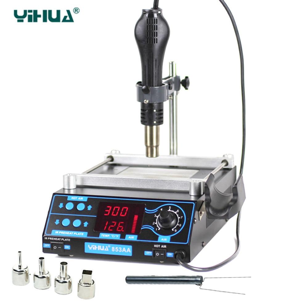 YIHUA853AA Vysoce výkonná přepracovávací stanice ESD BGA PCB - Svářecí technika - Fotografie 1