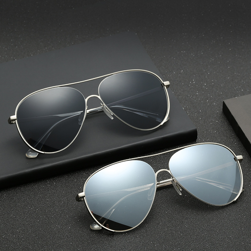 Поляризационные солнцезащитные очки для пилота, мужские брендовые дизайнерские солнцезащитные очки для вождения, женские винтажные Ретро