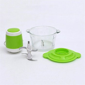 2L Automatic Powerful Electric Meat Grinder Multifunctional Food Processor Household Chopper Slicer Cutter Blender EU