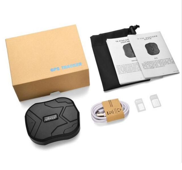 20000mAh Rastreador GPS Impermeable Tiempo Real Antirrobo Fuerte im/án GPS Tracker App Gratuita Seguimiento Veh/ículo Localizador GPS para Coche