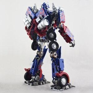Image 5 - Com caixa de transformação wj mpm04 op optimus espadachim liga deformação crianças brinquedos figura ação robô crianças presentes