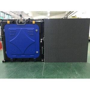 Image 4 - Led לוח מודעות LED פנל P6 SMD rgb 576x576mm למות יצוק אלומיניום קבינט השכרה עבור חיצוני עמיד למים פרסום