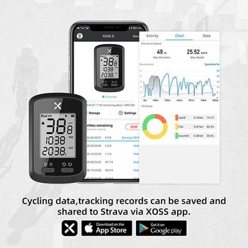 Speedometer Bike Computer G Plus Wireless GPS Speedometer Waterproof Road Bike MTB Bicycle Bluetooth ANT+ with Cadence Cycling Computer.  - FitnessKim
