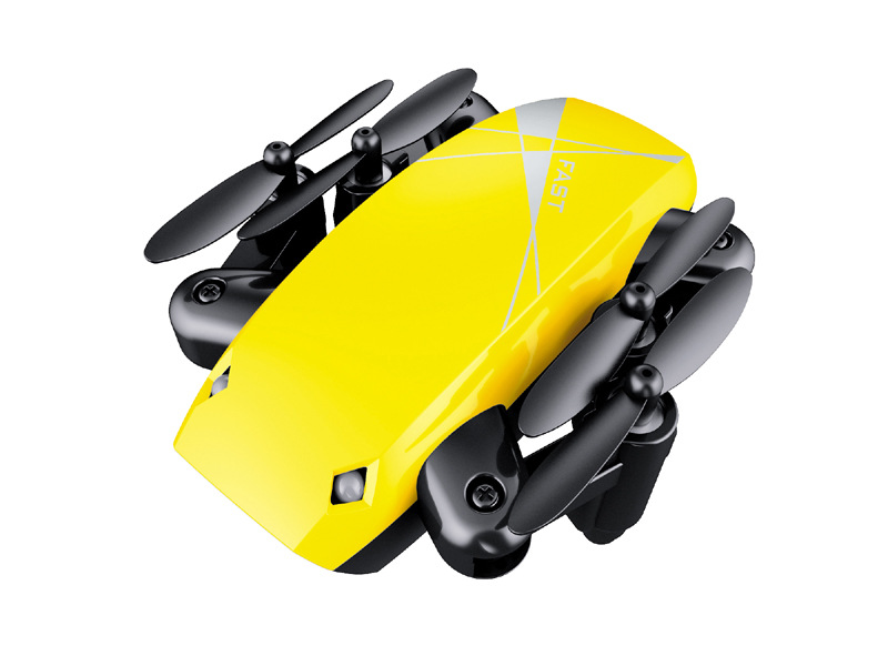 Bo Jiang S9 Mini Folding Mobile Phone Real-Time Image Transmission Quadcopter Remote Control Aircraft Unmanned Aerial Vehicle Ai