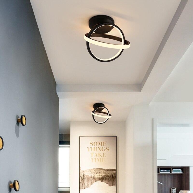 moderno led luzes teto do corredor 04