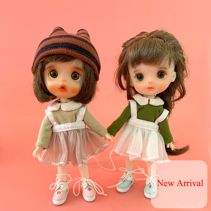 Mini Doll Suspender Short Pants For 20cm Doll 1//8 BJD Doll Clothes Accessory