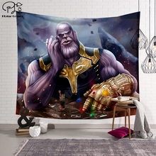 цена Black panther/The Avengers/Thanos Blanket Tapestry 3D Printing Tapestrying  Rectangular Home Decor Wall Hanging New style 2 онлайн в 2017 году