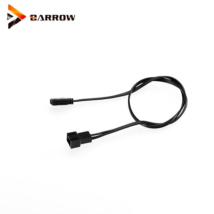 Original Barrow ZBDZJX-5 LRC RGB V2 5v Aurora Cable Sync Mainboard Compatible ASUS X299 Motherboard With 5V 3PIN Plug