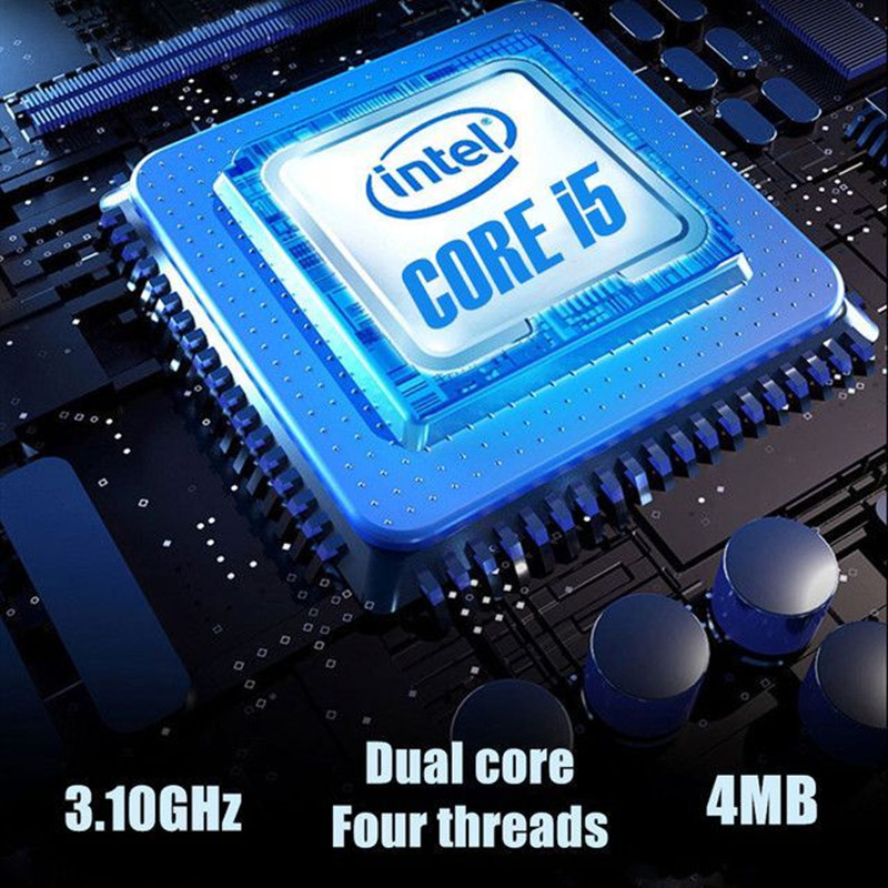 15.6Inch For Intel i5-5257U 3.10GHz Gaming laptop 256GB SSD IPS Screen Keyboard Backlight Fingerprint Unlock game Notebook-1