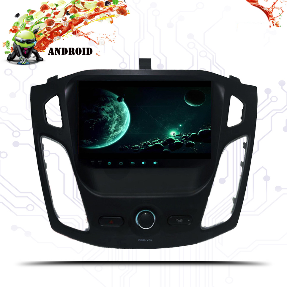 For Ford Focus 3 2012- 2015 2016 2017 2018 19 Car Multimedia Player Android 9.0 GPS Car Radio Audio Auto 8 Cores 64G, IPS, DSP