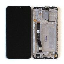 شاشة عرض LCD مقاس 6.26 بوصة لـ Asus Zenfone Max Plus M2 Max Shot ZB634KL مع إطار + محول رقمي للوحة اللمس