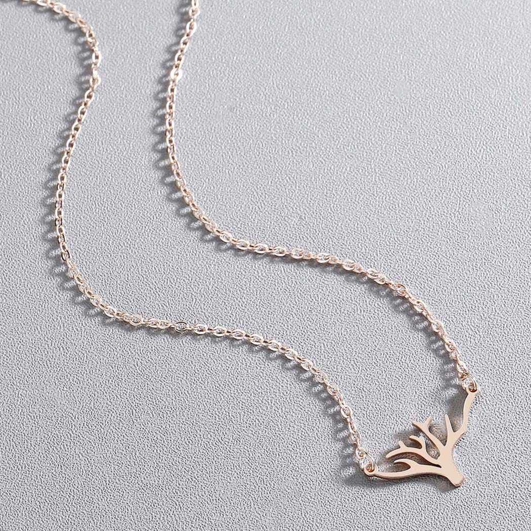 Kinitial สแตนเลสสร้อยคอต้นไม้ร้อน Tree of Life สร้อยคอผู้หญิง Charm จี้สำหรับแฟนของขวัญเครื่องประดับ