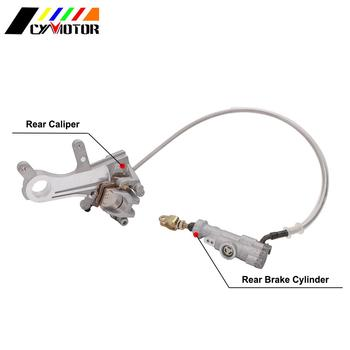 Motorcycle Rear Brake Caliper Master Cylinder Oil Hose For Honda CR125R 250R CRF250R 250RX 250X 450R 450RX CRF450X CRF450L 2019