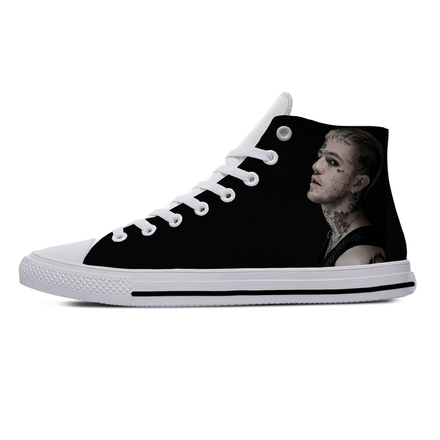 LIL PEEP THEMED HIGH TOP SHOES (9 VARIAN)