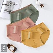 3 Pcs / Lot ! Cotton Pregnant Panties Low Waist Women Underwear Seamless Briefs Maternit Underpants
