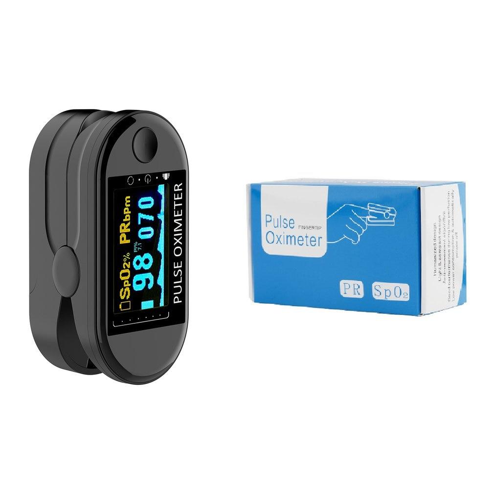 Finger Clip Heartbeat Pulse Oximeter Finger Pulse pulsoksymetr Heart Rate Spo2 Monitor Blood Oxygen Meter Sensor Pressure