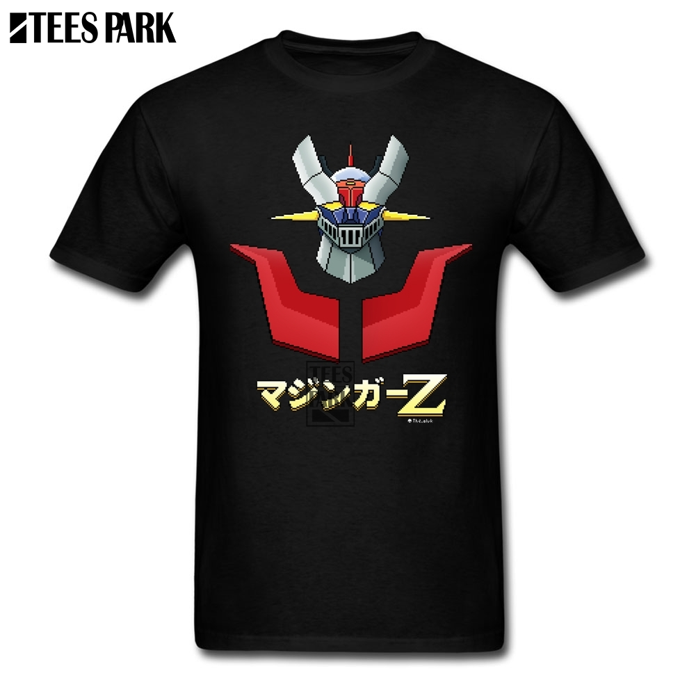 <font><b>Mazinger</b></font> <font><b>Z</b></font> <font><b>T</b></font> <font><b>Shirt</b></font> Sale Men's Cotton Short Sleeve <font><b>T</b></font>-<font><b>Shirt</b></font> Oversize Style Men's Funny Printed Tees Japan Anime Summer Cartoon image