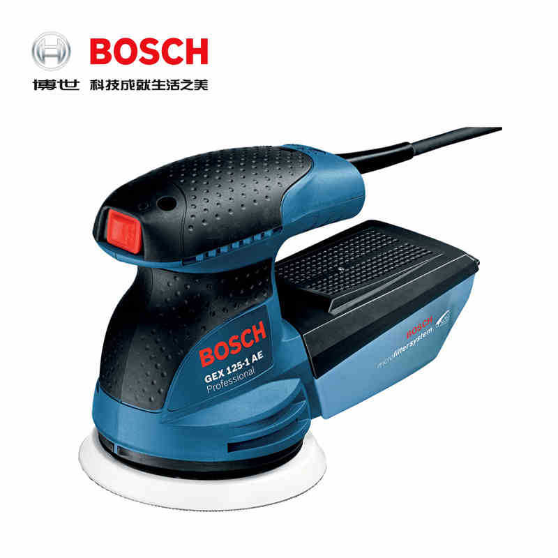 Bosch Sand Mill GEX125-1A Electric Tool Eccentric Sand Mill Sanding Machine Grinding Machine