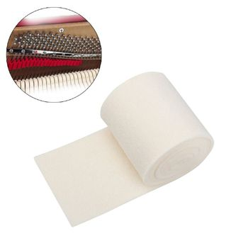 PO-08 Piano Mute Cotton Piano Tuning Accessories Piano Rail Muffler Mute Felt Piano Repair Parts Silencer Cotton new hot walnut wood piano treble stick double ended mediant and alt for piano tuning mute