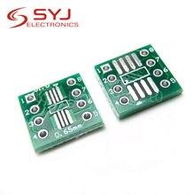 20 шт./лот TSSOP8 SSOP8 SOP8 для DIP8 PCB лапками углублением SOP-8 СОП передаточная плата погружения кнопочный экран шаг адаптер в наличии