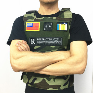 Image 3 - Bulletproof דגל במגמת CS אפוד טקטי אפוד הצבאי וסטים טקטי ציוד ציד בגדי דיג סוס רכיבה וסטים