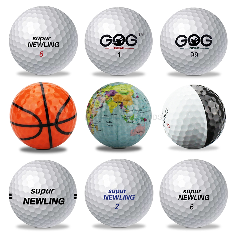 Brand new Golf Ball GOG and Supur Newling Golf Balls Supur Long Distance basketball global map  Globe Crystal ball dropship 1pc title=