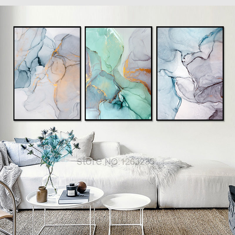 Abstract Green Stone Pattern Nordic Poster Canvas Painting Quadro Wall Pictures Cuadros Decoracion Geometric Home Decor Abstract Green Stone Pattern Nordic Poster Canvas Painting Quadro Wall Pictures Cuadros Decoracion Geometric Home Decor Unframed