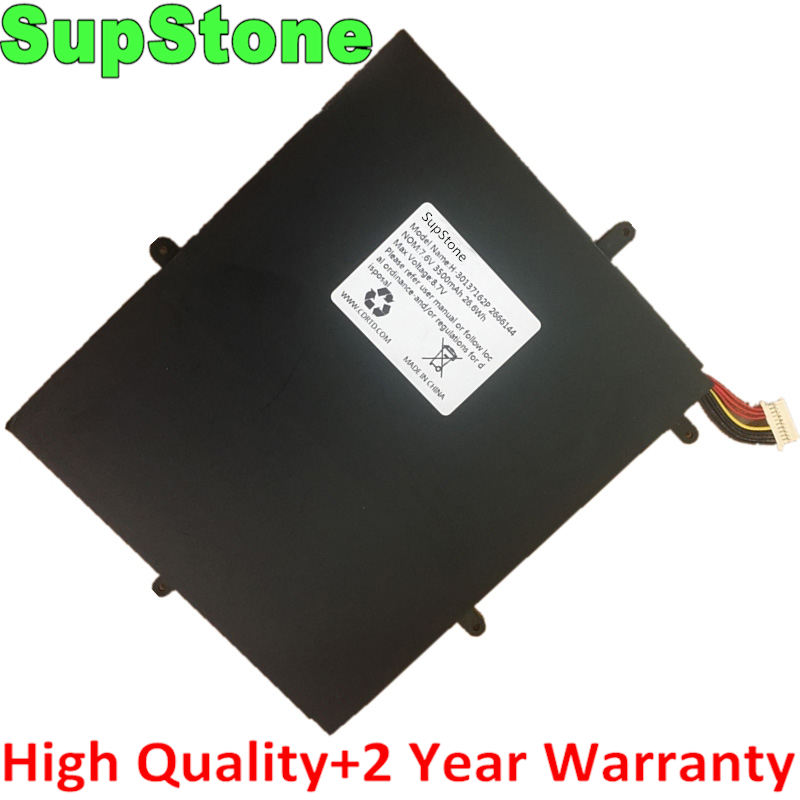 SupStone New 26.6Wh H-30137162P Laptop Battery For TECLAST F5 2666144 NV-2778130-2S For JUMPER Ezbook X1