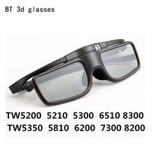 NEW BT RF Bluetooth Glasses 3D Shutter Glasses Eyewear for Epson Home Cinema Projector Samsung Sharp Sony Panasonic 3d TV