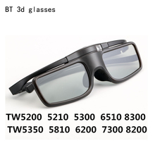 Nouveau BT Bluetooth lunettes 3D obturateur lunettes lunettes pour Epson Home cinéma projecteur Samsung Sharp Sony Panasonic 3d TV