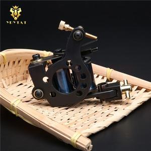 Image 5 - New Original YRYTAT 10 Wrap Coil Liner Shader Tattoo Machine Gun Pro Cast Iron Tattoo Machine Gun Equipment Supply