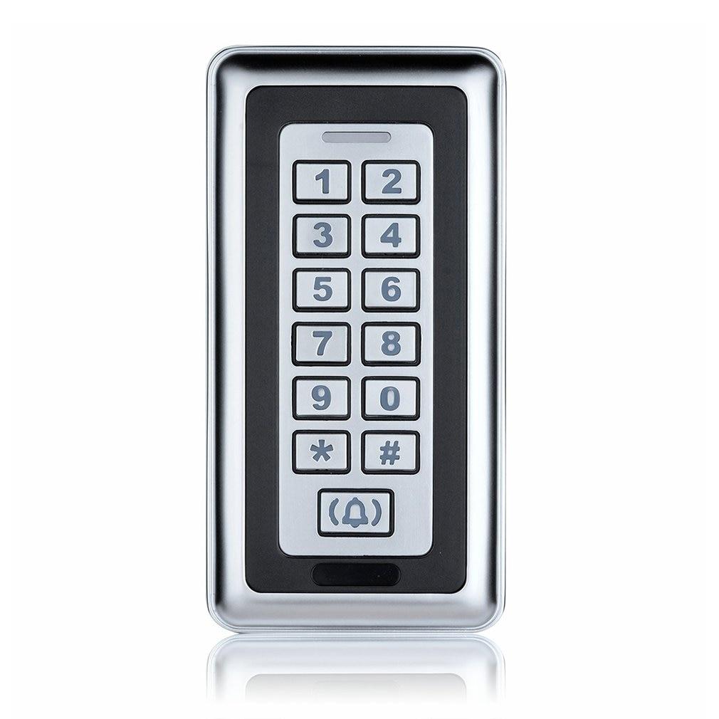 Carte d'identité étanche large étroit porte contrôleur extérieur en métal autonome accès carte d'identité porte système de contrôle d'accès