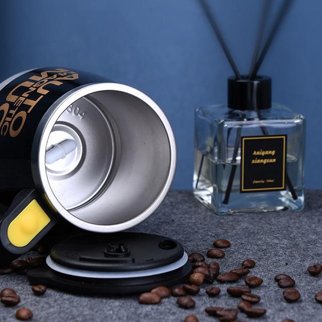 USB Rechargeable Automatic Self Stirring Magnetic Mug 5