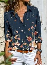 Temperament Long Sleeve Women Shirt Large Size Casual Shirt Fashion Women Top
