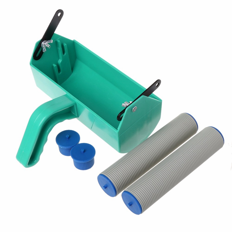 Single Color Decoration Paint Painting Machine for 7 Inch Wall Roller Brush Tool 180X110Mm   - title=