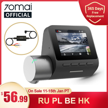 70mai Smart Dash Cam Pro Engels Voice Control 1944P 70MAI Auto Dvr Camera Gps Adas 140FOV 24H Parking monitor 70mai Pro Plus