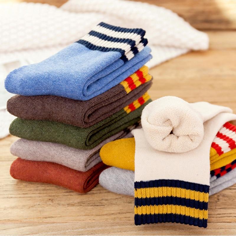 1pair  Winter Thick Warm socks Wool terry towel Women Sock Vintage Christmas Socks Gift winter sokken Women's Socks & Hosiery