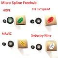 Сплайн трещотки для MAVIC/HOPE/Промышленность девять/DT микро-для детей возрастом от 12 Скорость MTB велосипеда велосипедные шлемы для концентрато...