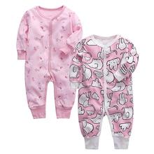 Kombinezon dla niemowląt noworodka Romper ubrania dla dzieci 100% bawełna 3 6 9 12 18 24 miesięcy ubrania dla dzieci