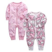 תינוקות סרבל יילוד Romper תינוק בגדי 100% כותנה 3 6 9 12 18 24 חודשים תינוק בגדים