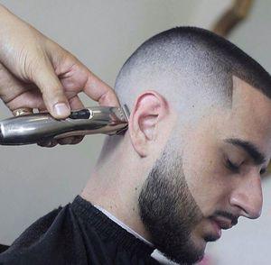Image 4 - Profissional aparador de cabelo para homens barba trimer elétrico sem fio máquina de corte de cabelo barbeiro loja grooming corte de cabelo conjunto