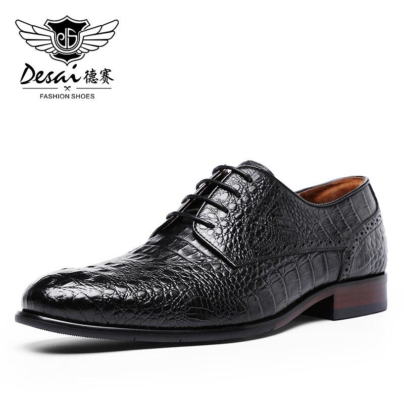DESAI 2020 New Arrival Business Derby OEM Italian Shoes Men