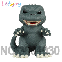 Official letsjoy 10cm pop horse Godzilla collection Vinly Garage Kits car decoration squishy toy gift for kids girl xmas cute